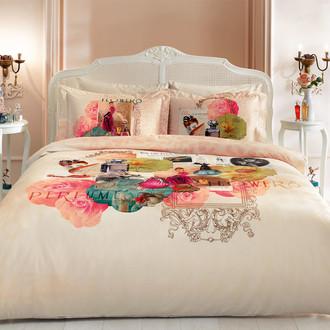 Комплект постельного белья Tivolyo Home NEW PERFUME хлопковый люкс-сатин