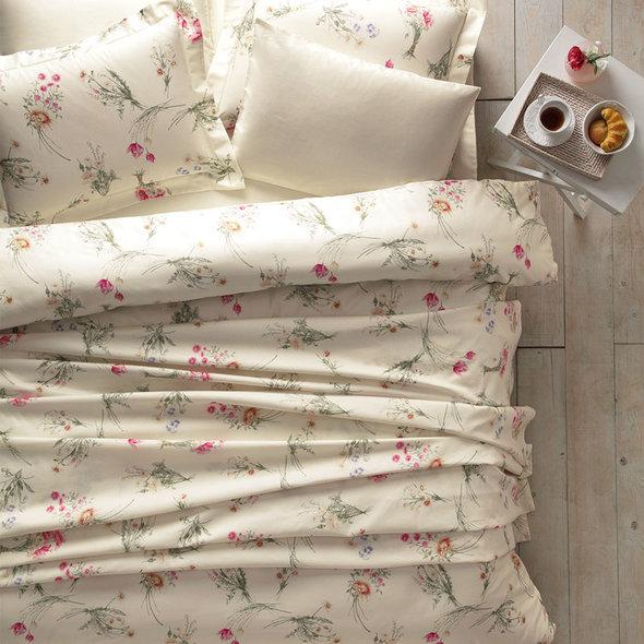 Постельное белье Tivolyo Home ELENORE хлопковый люкс-сатин евро-макси, фото, фотография