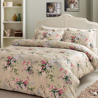 Комплект постельного белья Tivolyo Home BRUNO хлопковый люкс-сатин