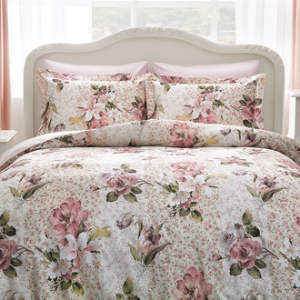 Комплект постельного белья Tivolyo Home OLIVIA хлопковый люкс-сатин