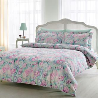 Комплект постельного белья Tivolyo Home PASTORAL хлопковый люкс-сатин