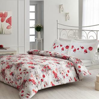 Комплект постельного белья Tivolyo Home LAILA хлопковый люкс-сатин