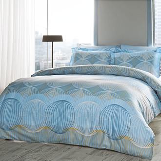 Комплект постельного белья Tivolyo Home ORION хлопковый люкс-сатин