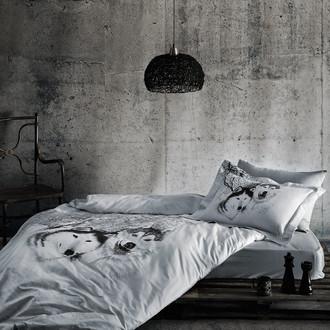Комплект постельного белья Tivolyo Home WOLF хлопковый люкс-сатин