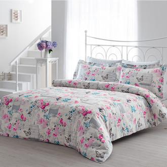 Комплект постельного белья Tivolyo Home SUMMER хлопковый люкс-сатин