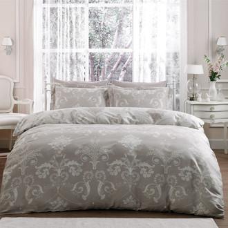 Комплект постельного белья Tivolyo Home ARREDO хлопковый люкс-сатин (бежевый)