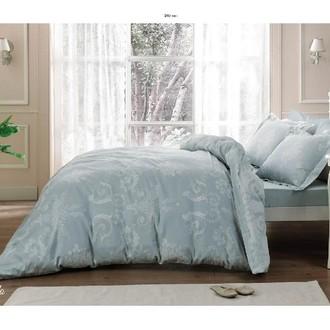 Комплект постельного белья Tivolyo Home ARREDO хлопковый люкс-сатин (бирюзовый)