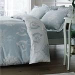 Постельное белье Tivolyo Home ARREDO хлопковый люкс-сатин бирюзовый евро, фото, фотография