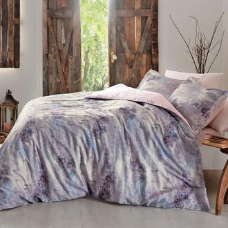 Комплект постельного белья Tivolyo Home DELUX VIVIEN хлопковый люкс-сатин
