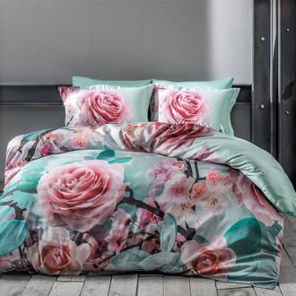 Комплект постельного белья Tivolyo Home ROSE DREAM хлопковый люкс-сатин