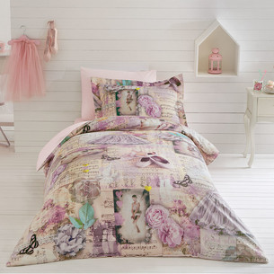 Постельное белье Tivolyo Home BALERIN хлопковый люкс-сатин 1,5 спальный