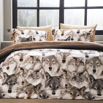 Комплект постельного белья Tivolyo Home LOGAN хлопковый люкс-сатин