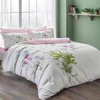 Комплект постельного белья Tivolyo Home DELUX CANDY хлопковый люкс-сатин