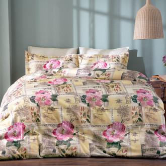 Комплект постельного белья Tivolyo Home CONTRADA хлопковый люкс-сатин