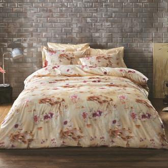 Комплект постельного белья Tivolyo Home TANGO хлопковый люкс-сатин