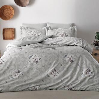 Комплект постельного белья Tivolyo Home DELUX LISSET хлопковый люкс-сатин
