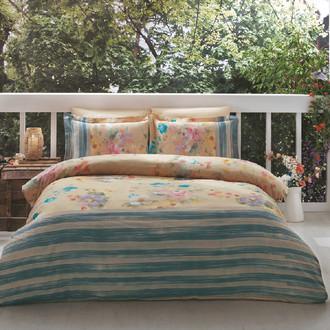 Комплект постельного белья Tivolyo Home MAGNOLIA хлопковый люкс-сатин