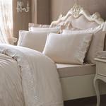 Постельное белье Tivolyo Home ELEGANT хлопковый сатин бежевый 1,5 спальный, фото, фотография