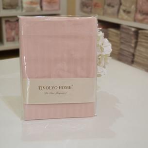 Набор наволочек 2 шт. Tivolyo Home JAQUARD хлопковый сатин deluxe розовый 70х70