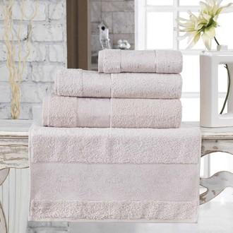 Полотенце для ванной Karna PANDORA бамбуковая махра (бежевый)