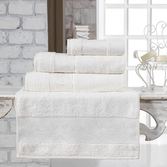 Полотенце для ванной Karna PANDORA бамбуковая махра (кремовый)