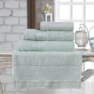 Полотенце для ванной Karna PANDORA бамбуковая махра ментол 90х150