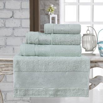 Полотенце для ванной Karna PANDORA бамбуковая махра ментол