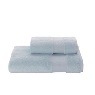 Полотенце для ванной Soft Cotton ELEGANCE хлопковая махра бирюзовый 85х150