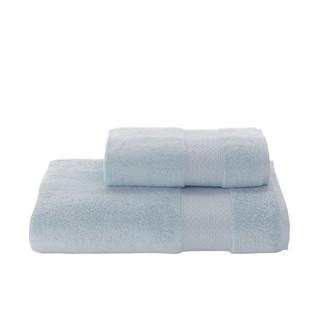 Полотенце для ванной Soft Cotton ELEGANCE хлопковая махра (бирюзовый)