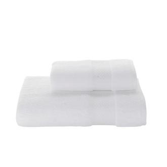 Полотенце для ванной Soft Cotton ELEGANCE хлопковая махра белый