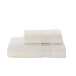 Полотенце для ванной Soft Cotton ELEGANCE хлопковая махра экрю 85х150