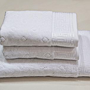 Полотенце для ванной Soft Cotton VERA хлопковая махра белый 50х100