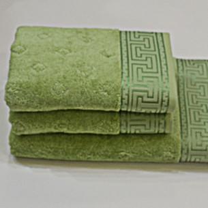 Полотенце для ванной Soft Cotton VERA хлопковая махра бирюзовый 50х100