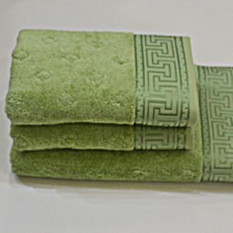 Полотенце для ванной Soft Cotton VERA хлопковая махра бирюзовый