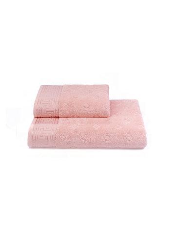 Полотенце для ванной Soft Cotton VERA хлопковая махра розовый 50х100, фото, фотография