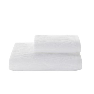 Полотенце для ванной Soft Cotton SORTIE хлопковая махра белый