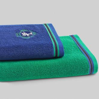 Полотенце для ванной Soft Cotton PEGASUS хлопковая махра зелёный