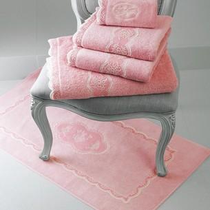 Полотенце для ванной Soft Cotton BUKET хлопковая махра тёмно-розовый 30х50