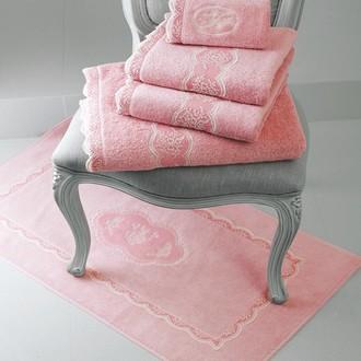 Полотенце для ванной Soft Cotton BUKET хлопковая махра тёмно-розовый