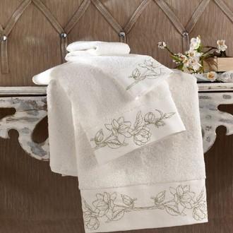 Полотенце для ванной Soft Cotton VIOLA хлопковая махра золотой