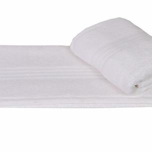 Полотенце для ванной Hobby Home Collection RAINBOW хлопковая махра белый 50х90