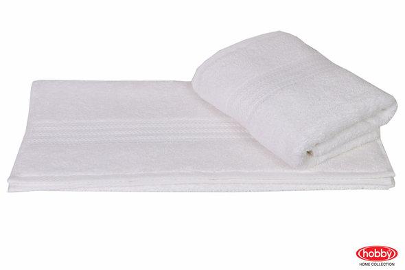 Полотенце для ванной Hobby Home Collection RAINBOW хлопковая махра (белый) 50*90, фото, фотография