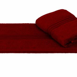 Полотенце для ванной Hobby Home Collection RAINBOW хлопковая махра (бордовый)