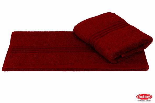 Полотенце для ванной Hobby Home Collection RAINBOW хлопковая махра (бордовый) 70*140, фото, фотография