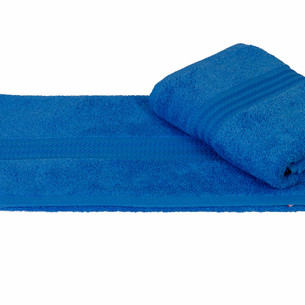 Полотенце для ванной Hobby Home Collection RAINBOW хлопковая махра голубой 50х90