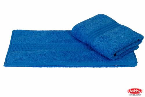Полотенце для ванной Hobby Home Collection RAINBOW хлопковая махра голубой 50х90, фото, фотография