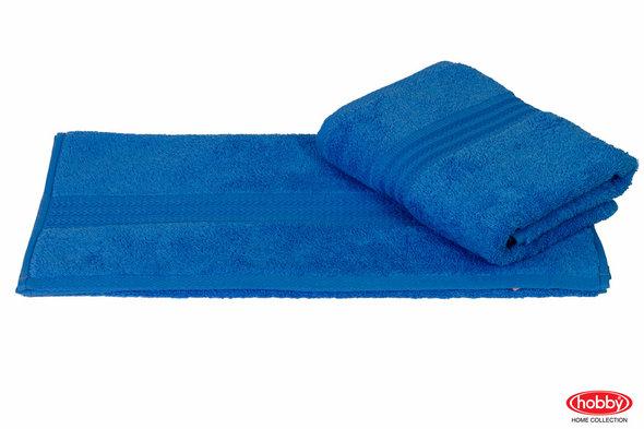 Полотенце для ванной Hobby Home Collection RAINBOW хлопковая махра (голубой) 50*90, фото, фотография