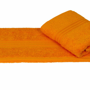 Полотенце для ванной Hobby Home Collection RAINBOW хлопковая махра горчичный 70х140