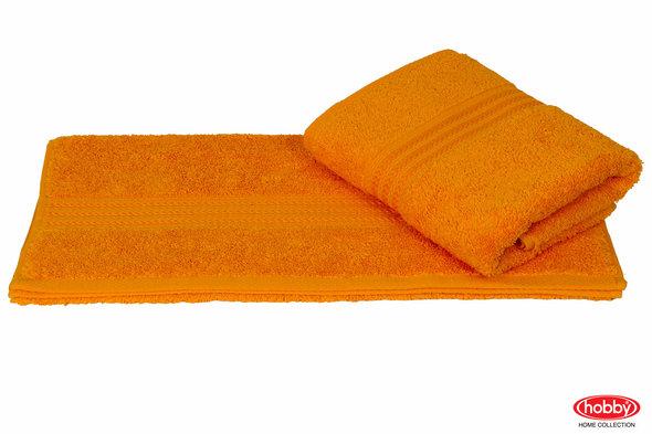 Полотенце для ванной Hobby Home Collection RAINBOW хлопковая махра (горчичный) 70*140, фото, фотография