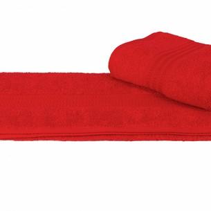 Полотенце для ванной Hobby Home Collection RAINBOW хлопковая махра гранатовый 70х140